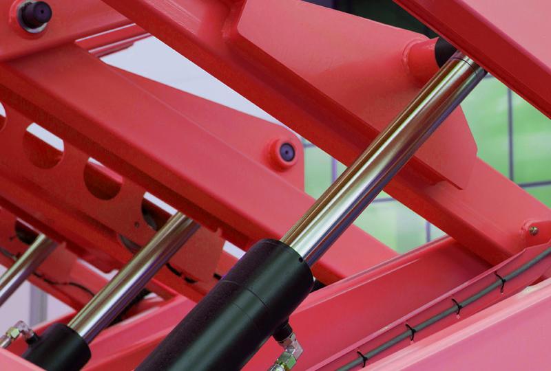 Cilindri oleodinamici per applicazioni per il settore industriale